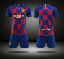 Without Logo 2019/20 Kids limited Barcelona Soccer Uniform Children Football Kits