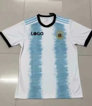 18-19 Thai Quality With Logo Adult argentina copa america home soccer jersey
