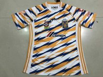 18-19 Thai Quality  With Logo Tigres 3rd Away Thai Quality Soccer Jersey