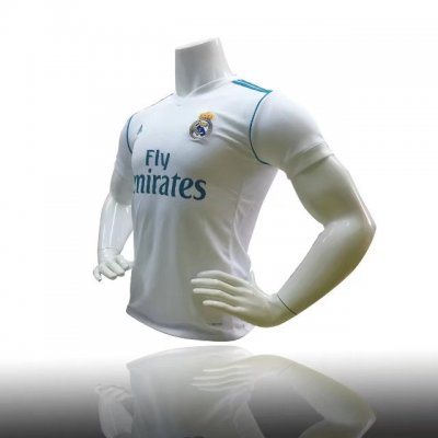 Adult Thailand Quality Real Madrid White Home Shirt Youth Soccer Jersey Kits