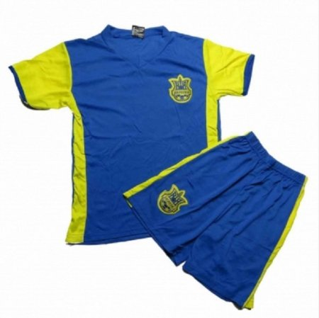Lenrick Kids Euro 2016 Ukraine Home Soccer Jersey Uniform Kits Wholesale