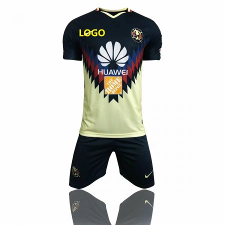 America Aguilas 2017 camiseta de futbol Mexican League soccer jerseys set thai quality Green 17 18 Mexico american club football shirts