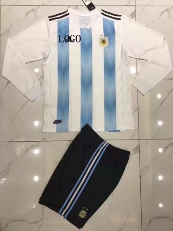 Argentina Long Sleeve Jersey Uniforms