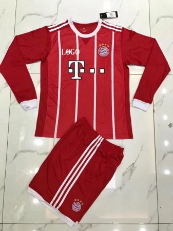 Bayern Long Sleeve Jersey Uniforms