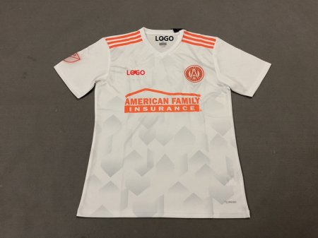 18-19 Men Atlanta United FC Away white Soccer Jersey -Thai Quality