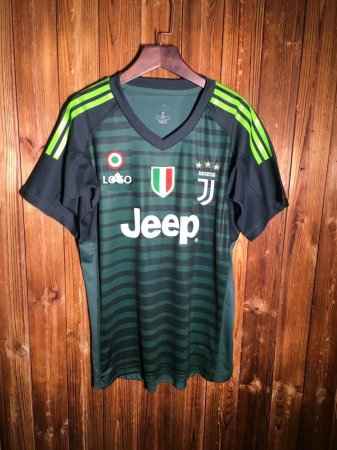 18-19 Juventus Grey Goalkeeper Soccer Jersey -Thai Quality