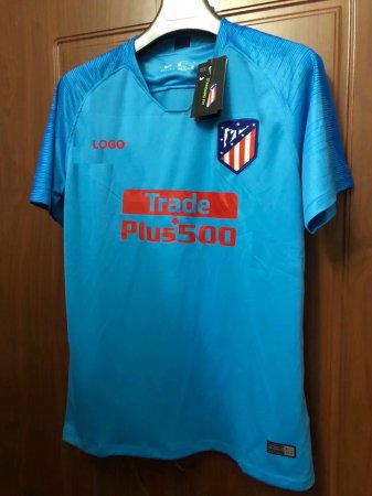 2018/19 Thai Quality Man atletico madrid Soccer Jersey Adult Football Shirt