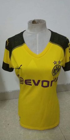 18/19 Women Thai Borussia Dortmund Home Soccer Jersey Fan Version