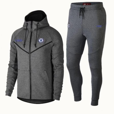 2018/19 Men's Tech Fleece Chelsea FC Tracksuit Joggers Hoodie Suits