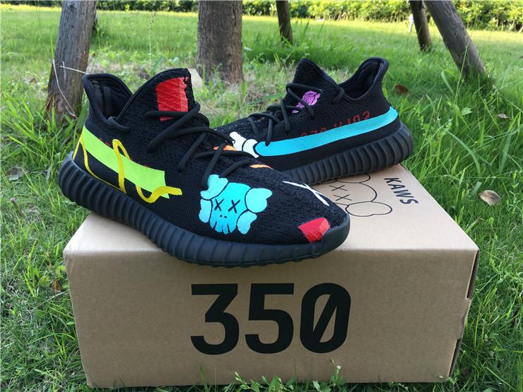 US$ 140 Authentic Adidas Yeezy 350 Boost V2x Kaws www