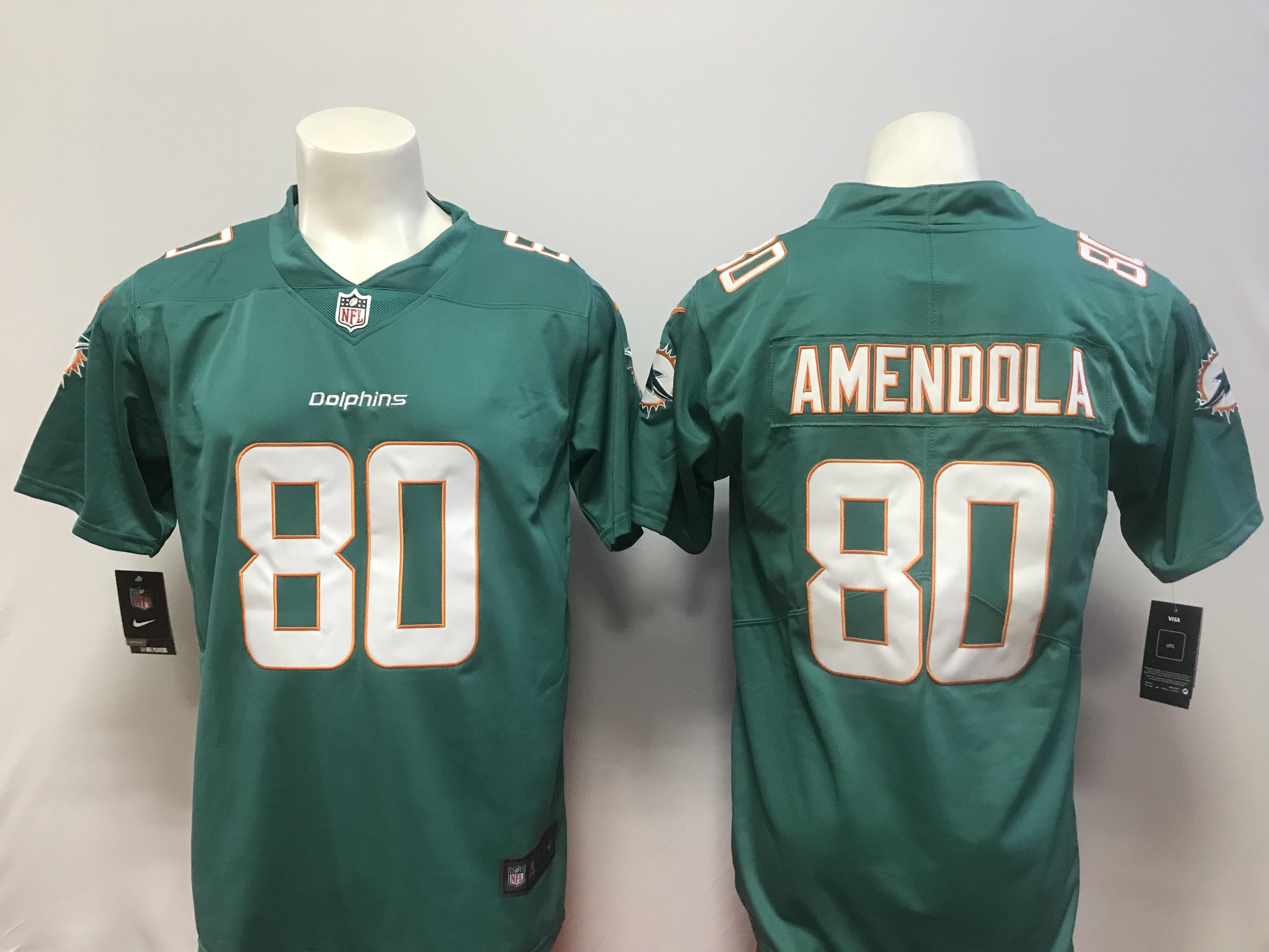 size 40 b8559 bd2a8 US$ 20 - Miami Dolphins #80 Amendola NFL Jersey - MQR - www ...