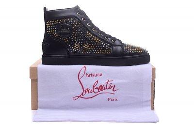 34c000a5f4c2 ... authentic christian louboutin aurelien flat sneakers christian louboutin  high top men shoes 58 7e68a a1a7e