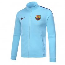 Barcelona 17-18 New N98 Blue Color Jacket AAA Thai Quality top Coat