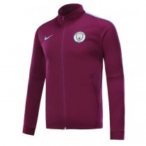 Manchester City 17-18 New N98 Purple Color Jacket AAA Thai Quality top Coat