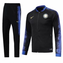 Inter Milan 2018-2019 Black Jacket With Pants Full Set Training Suit Tracksuit AAA Thai Quality Discount sports wear