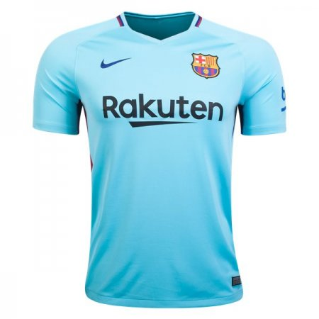 barcelona new 17-18 away blue color Soccer Jersey camisetas de futbol Cheap Football  Shirts wholesale order online store free shipping 18c61dc3d0d29