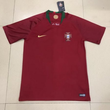 Portugal 2018 World Cup Home Soccer Jersey AAA Thailand Quality Discount Football Shirt wholesale online best thai quality shirts