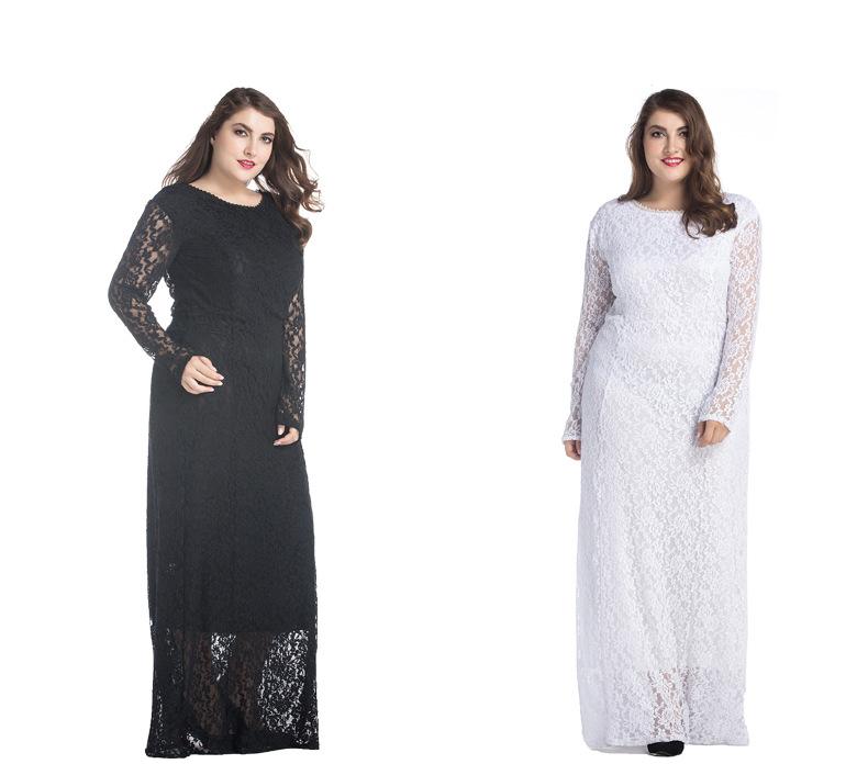 Elegant Long Sleeve Maxi Dresses