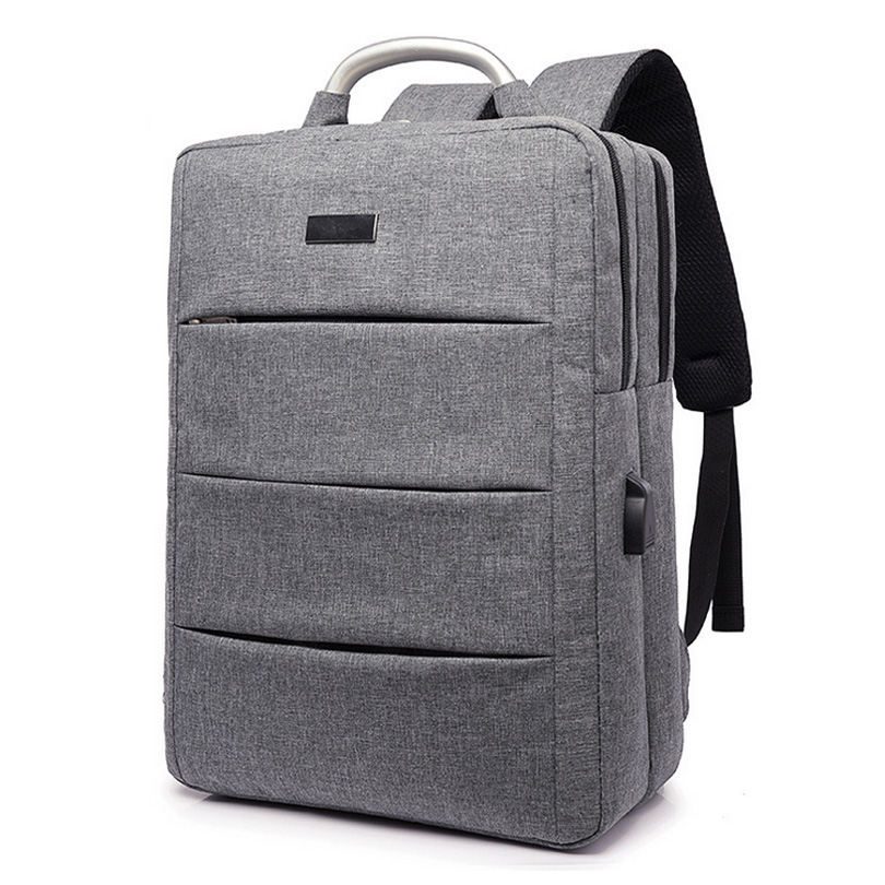 1a5b9ed0d980 OneBling Large Capacity Men School Bags Waterproof Business Laptop Bag  Women Bag USB Design Backpack