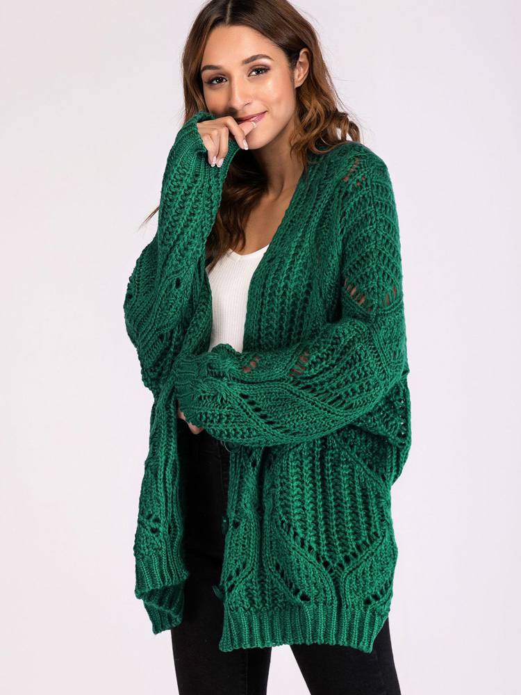 16237f49d US  38 - Oversized Button Front Chunky Open Knit Cardigan - www ...