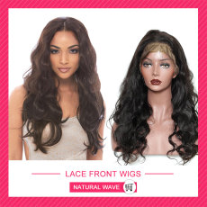 Front lace wigs Natural wave HL604
