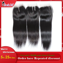Lace Closure Silky straight  9A