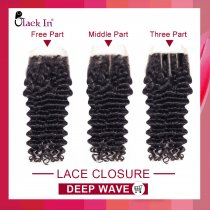 Lace Closure Deep Wave 9A