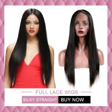 Very popular Full lace wigs silky straight