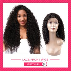 Front lace wigs  Jerry Curl  HL605