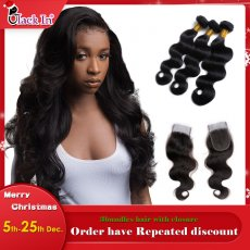 Hair with Closure (3+1) body wave