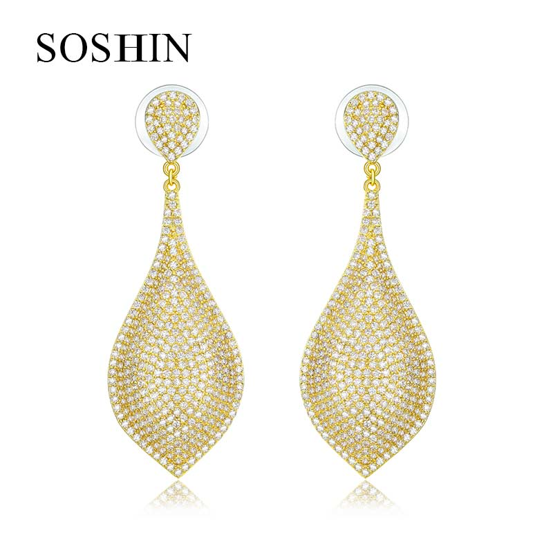 US$ 36.99 - SOSHIN 18K Gold Earring - www.jiyujewelry.com