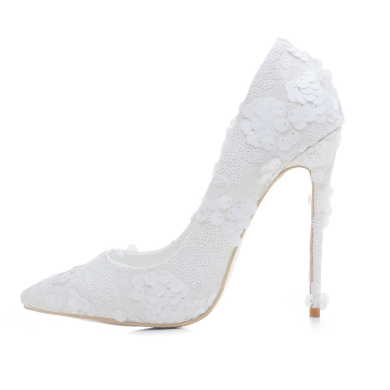 5e2c221db7f US  50 - Arden Furtado new style slip on sexy high heels 12cm white lace  wedding shoes for woman slip on shoes for woman stilettos -  www.ardenfurtado.com