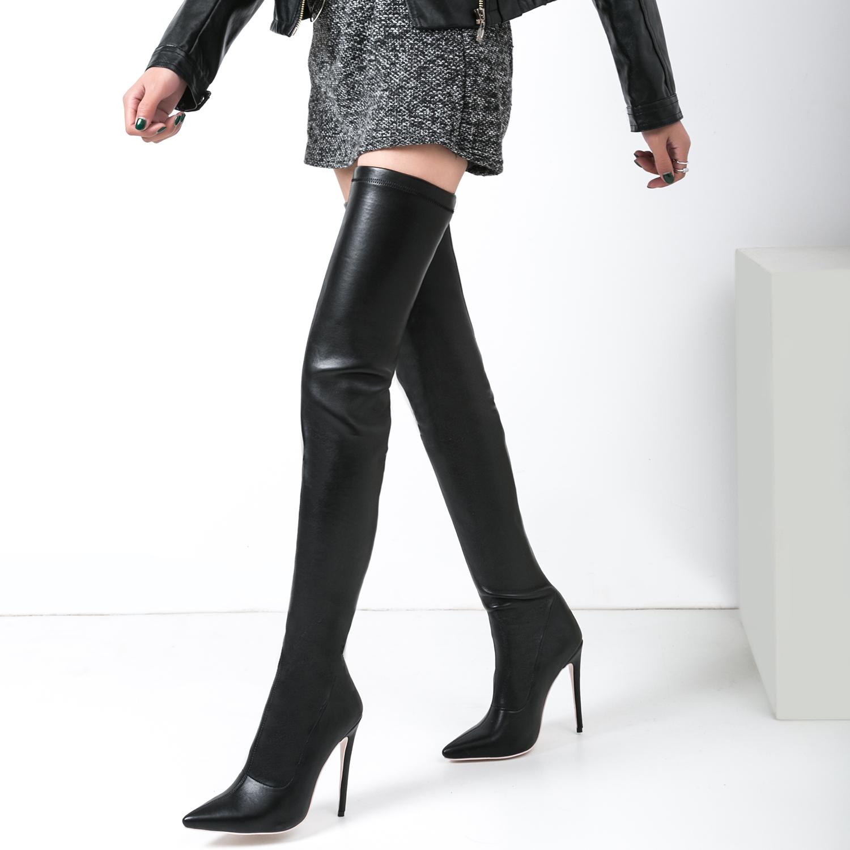 f447b1220b58 US$ 61 - Arden Furtado 2018 new style over the knee boots sexy high heels  stiletto heels 12cm woman fashion boots shoes ladies - www.ardenfurtado.com