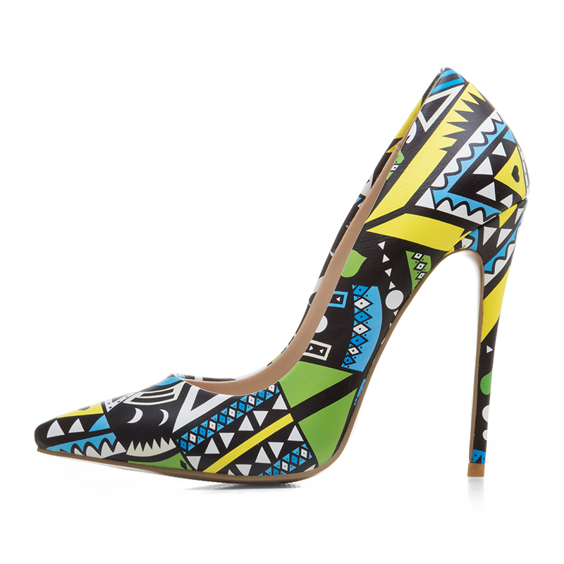 82ba6b0d160325 US  51 - Arden Furtado2018 extreme high heels woman flowers party shoes  stilettos heel slip-on fashion ladies Ethnic shoes big size 40-45 ...