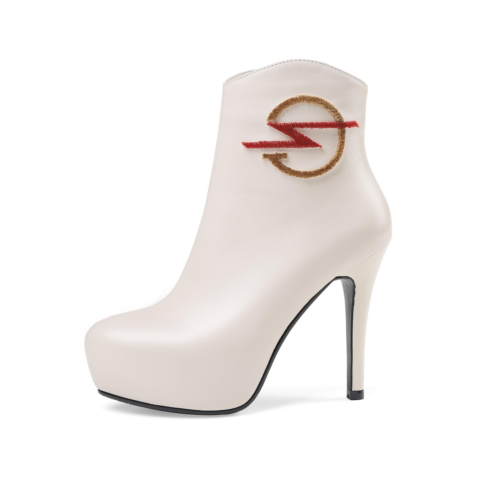 7eb36994eea US  65 - Arden Furtado 2018 new style spring autumn platform sexy high heels  12cm woman stilettos women shoes genuine leather ankle boots night club  shoes ...