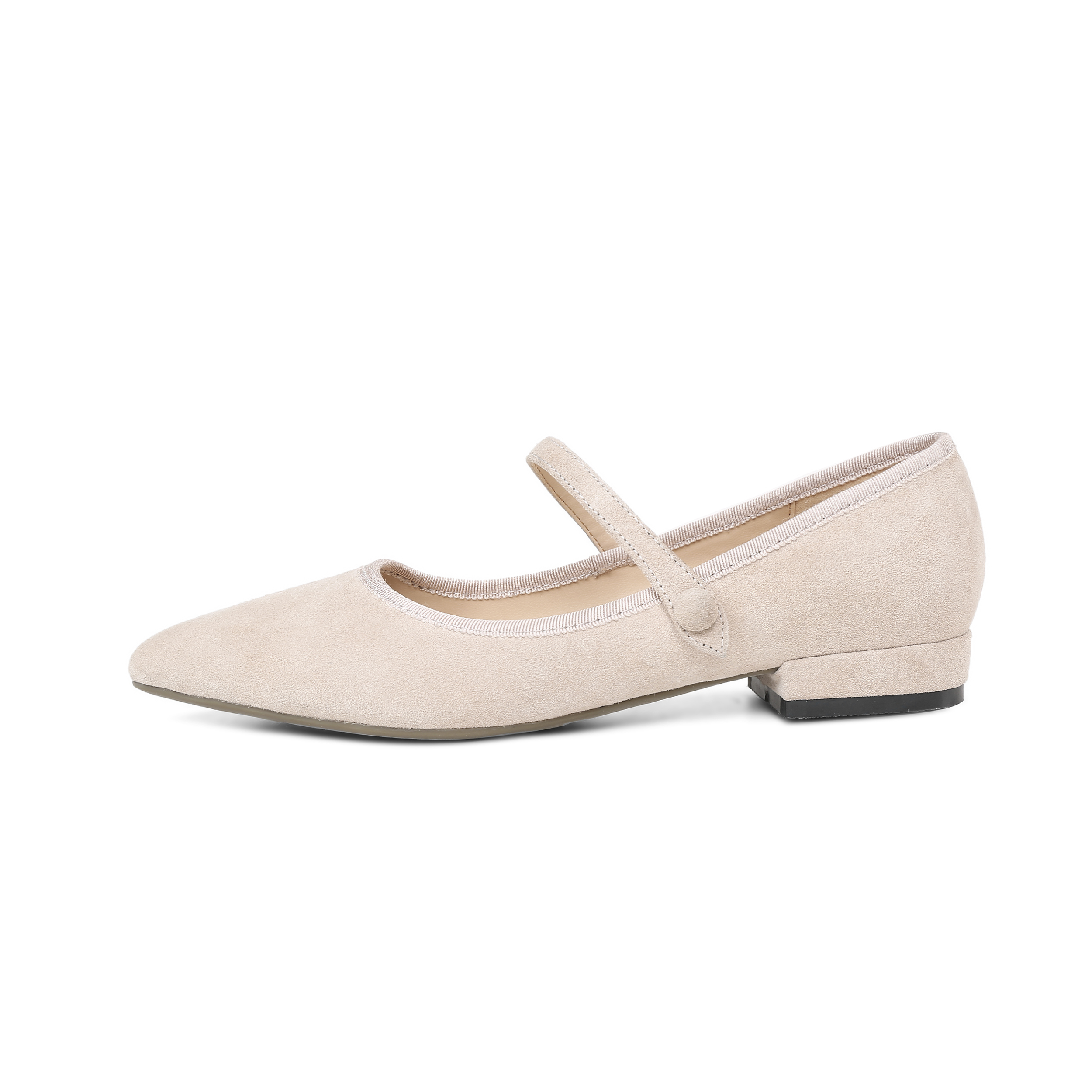 649d20ae359 US  48 - Arden Furtado 2018 spring autumn new style shoes woman buckle  strap square heels ballet flats pink fashion ladies shoes women -  www.ardenfurtado. ...