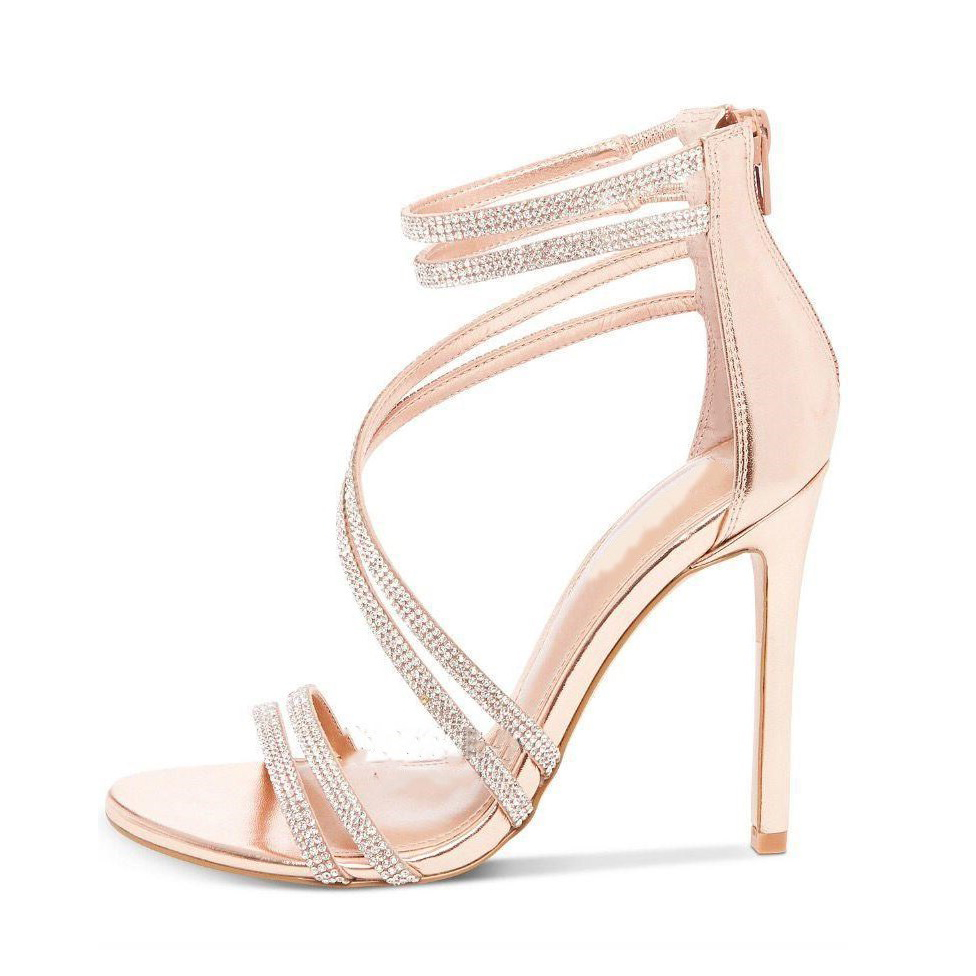 77d114925b US$ 53 - Arden Furtado 2018 summer new style shoes for woman sexy high heels  11cm big size fashion back zipper nude sandals party shoes -  www.ardenfurtado. ...