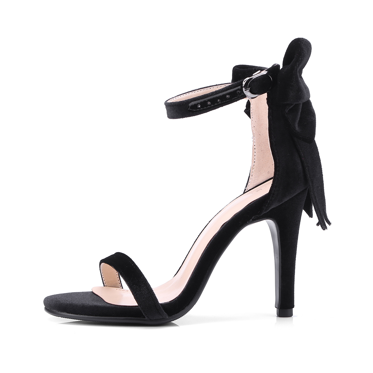 ce819f161436 US  60 - Arden Furtado 2018 summer blue red fashion high heels 10cm  stilettos butterfly knot ankle strap big size 40-43 elegant sandals -  www.ardenfurtado. ...