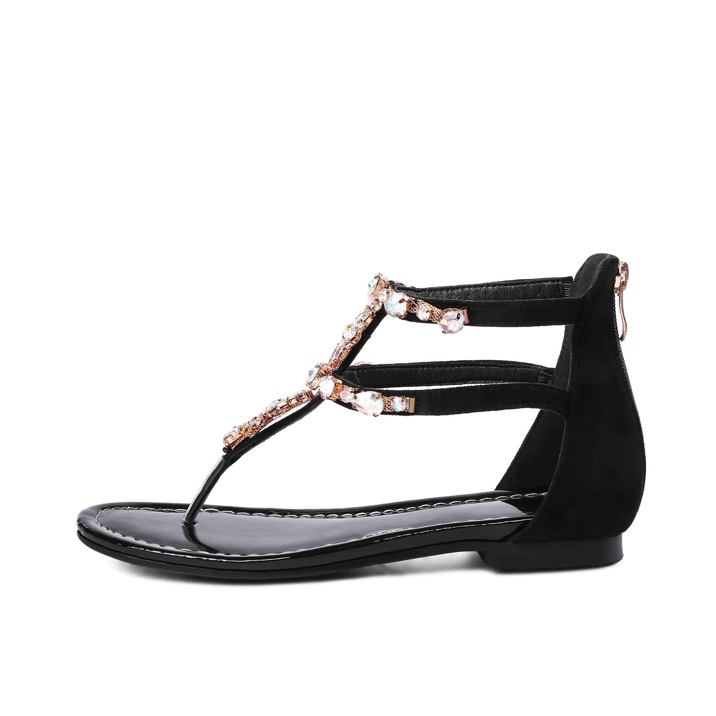 54afafecb11c7 US  48 - 2018 summer new style flip-flops crystal rhinestone flowers cover  heels sandals shoes woman ladies - www.ardenfurtado.com