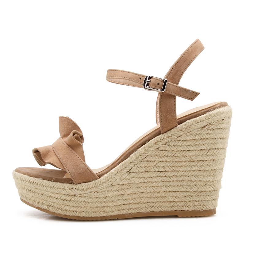 7c98e30de82 US  47 - 2018 summer high heels 10cm wedges platform open toe casual sandals  - www.ardenfurtado.com
