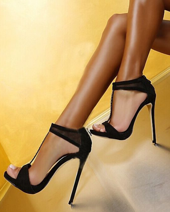 fc4b49921c63 US  59 - 2018 summer sexy high heels 12cm platform stilettos evening party  shoes ladies fashion sandals - www.ardenfurtado.com