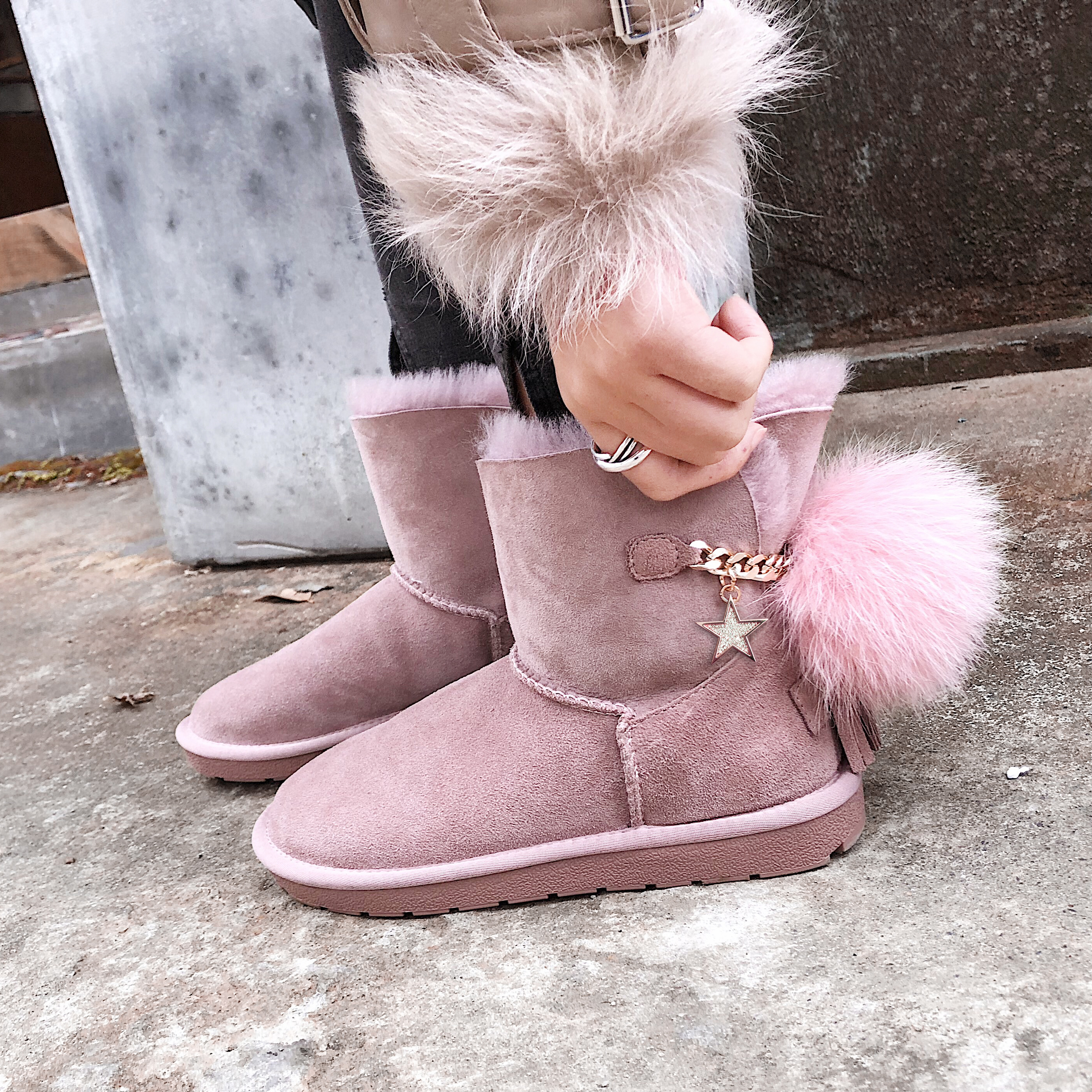 Us 61 Arden Furtado 2018 Autumn Winter Platform Snow Boots