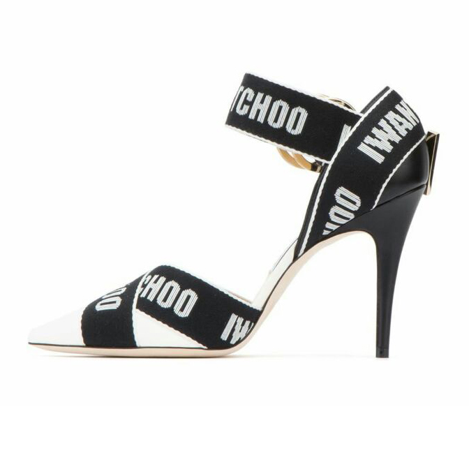 fc5b6e1e105 US  49 - 2019 summer high heels sexy stilettos pointed toe letters sandals  women s shoes big size party shoes - www.ardenfurtado.com
