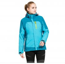 Women's Outdoor 3-IN-1 Waterproof Snowboarding Jacket Fleece Warm Raincoat KL972090