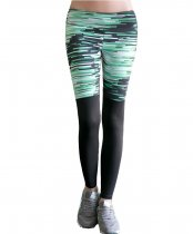 Women's Ankle Leggings Digital Print Skinny Active Yoga Pants KL672750