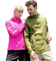 (S-2XL)Men UV Sun Protection Quick Dry Thin Transparent Jacket