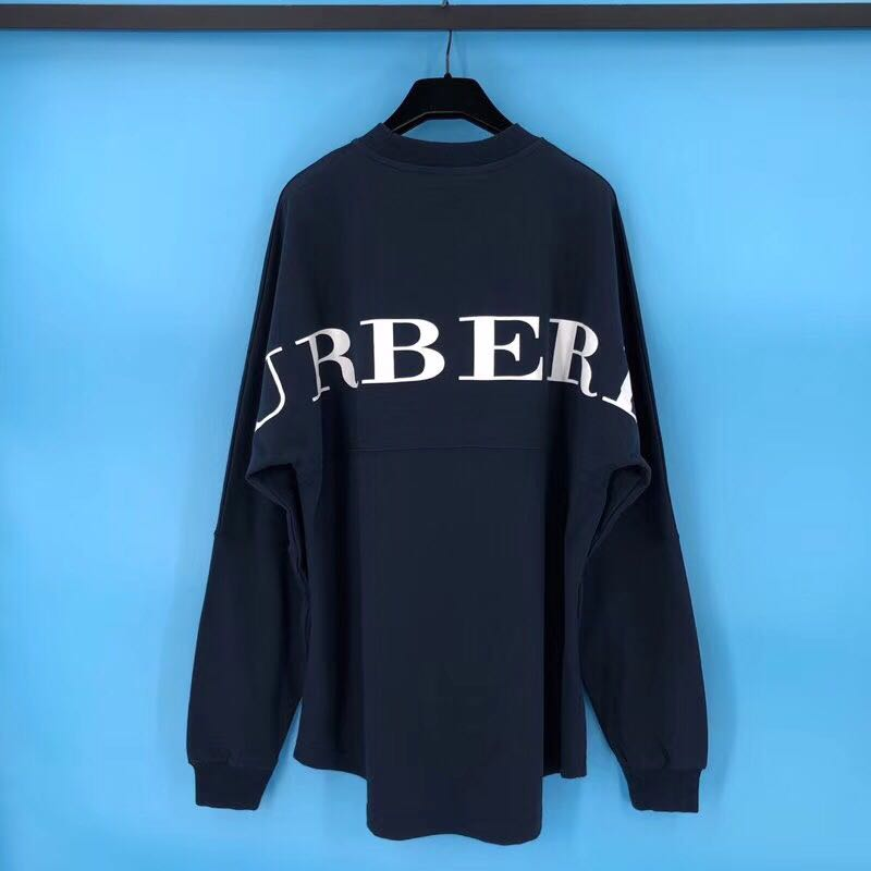 US$ 118 Falection 18ss Burberry Back Logo Sweatshirt Long