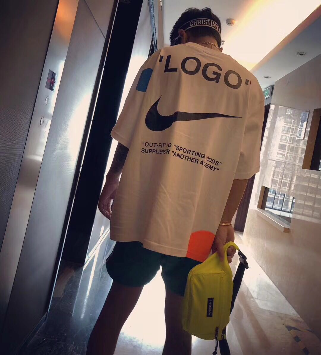 the best attitude vast selection latest fashion US$ 78 - Falection 18fw Off White x Nike Eagle Print World ...