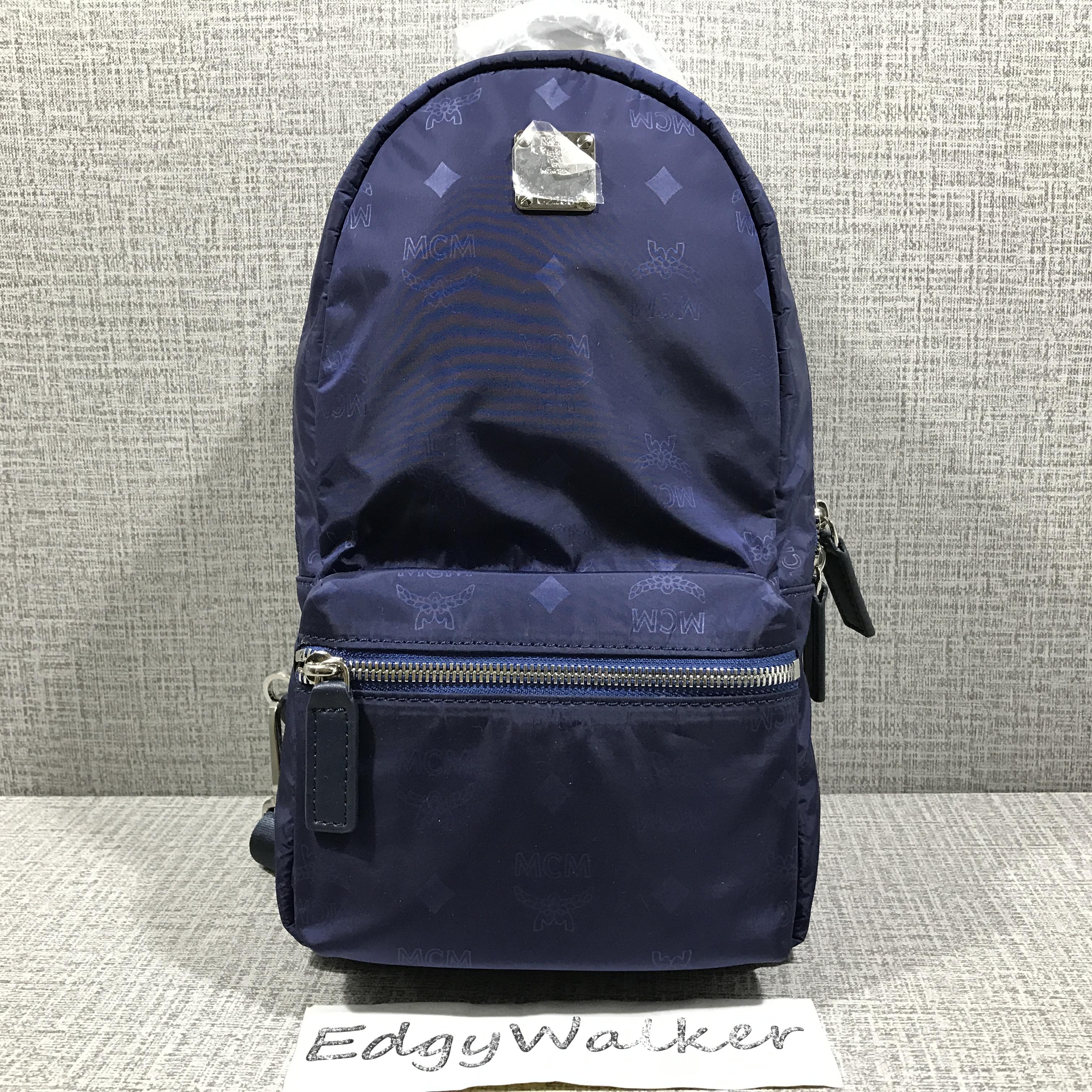 Mcm Blue Mini Backpack – Patmo Technologies Limited