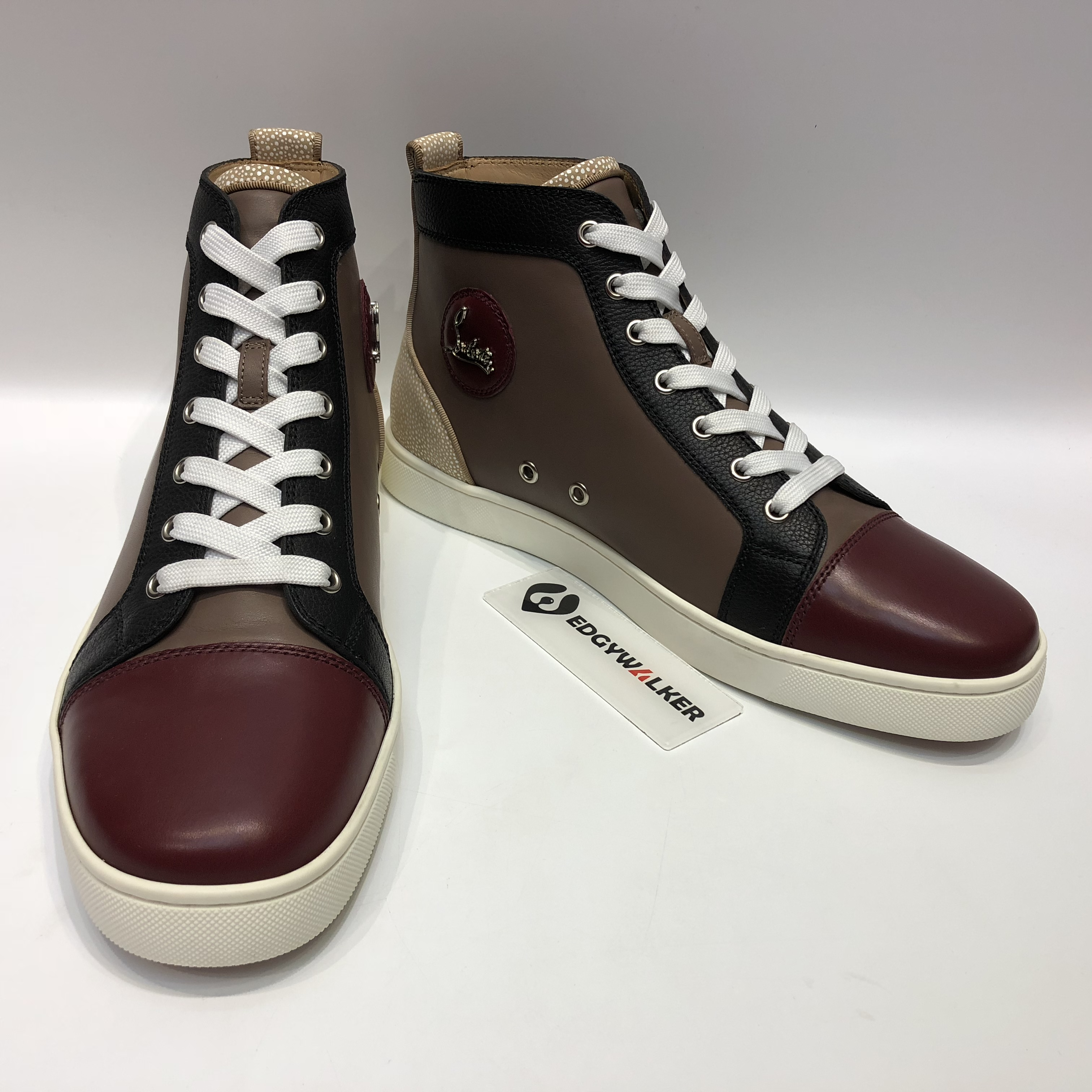 261904f0dfe US  290 - CLSKH20 Louboutin Louis Flat Version Mastic Highs - www ...
